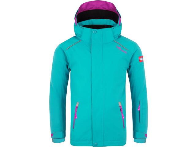 TROLLKIDS Holmenkollen PRO Snow Jacket Kids, turquoise
